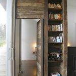 Door to bedroom 2 and library