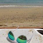 Παραλία στον Πλατύ Γυαλό