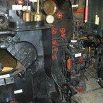 The Fire Box & controls of a Big Boy