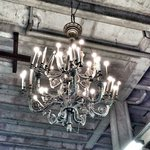 Chandelier. Your on the spot!
