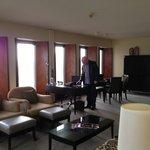 Living & dining room - corner suite