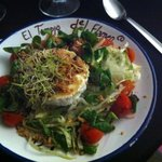 Starter - Goats cheese salad