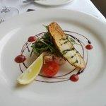 Tian mixed seafood&Confit salmon