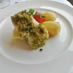 Herb Crusted fillet of Cod