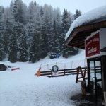 Hotel magnifico en medio de la pistas de esqui !