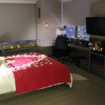 Room setup for engagement