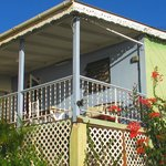 Exterior view of 2-bedroom cottage