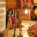 Théâtre de marionnettes dans le restaurant - Sara Vilas Hotel - Mandawa
