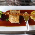 Pick of the mains - the succulent pork belly