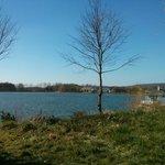Vue Sur le Lac depuis jardin Cottage