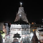 Jagdish Temple view from the restaurant