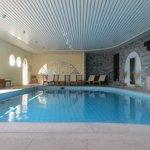 Schwimmbad in schöner Atmosphäre
