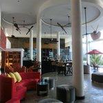 Hotel Lobby Reception area