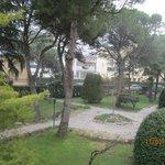 giardino dell'hotel Milano