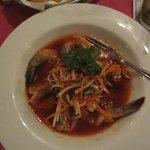 Ceviche with whole shrimp