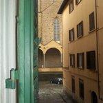 Vista de Santa Croce desde la ventana