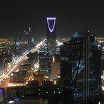 View of Riyadh at night