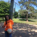 play volleyball or horseshoes for free at Boettcher park mt