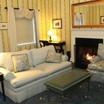 Living room of executive suite