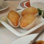 Ham Sui Kok aka fried dough balls filled with pork.