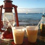Drinks at Calmos