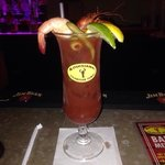 Hot Tails Bloody Mary!