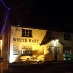 The White Hart at Hough by night....