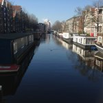 Navigating the canals.