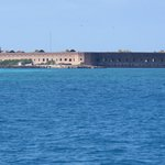 Approaching the Dry Tortugas