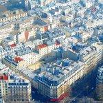 Vista dell'Hotel dalla Tour Eiffel