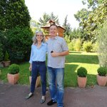 Our hosts, Daniele and Bernard