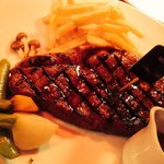 Mouth watering wagyu sirloin...