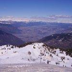 Panorama Dalla cima Paganella