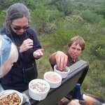 Christiaan even thought of snacks on Game Drive!!!