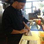 Fresh sushi - best chef :-)