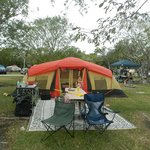 KOA Sugar Loaf Key camp sight
