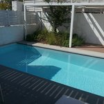 Privater Pool zu Maisonette