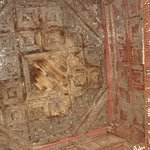 Beautiful ceiling reliefs at the Shwezigon Paya Pagoda in Bagan