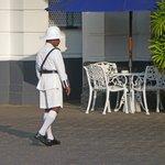Doorman in uniform