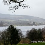 Looking out across Loch lomond from Balloch Country Park