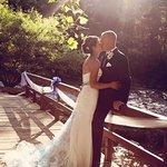 Creekside Resort Wedding Island Bridge