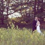 Wedding Couple at Creekside Resort in Meadow