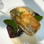 3. main dish, excellent fish
