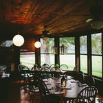 The Farmhouse Dining Porch at Creekside Resort