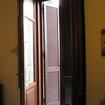 Nice heavy shutters (Room 32)