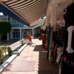 shops in Matagorda (behind the Spar)