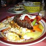 1/4 shrimp 1/4 lobster