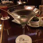 A great Martini at Le Meurice
