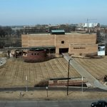 The Eiteljorg Museum is just to the right of the Indiana State Museum and also visible from our