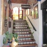 Escalera de Recepción a Primer piso